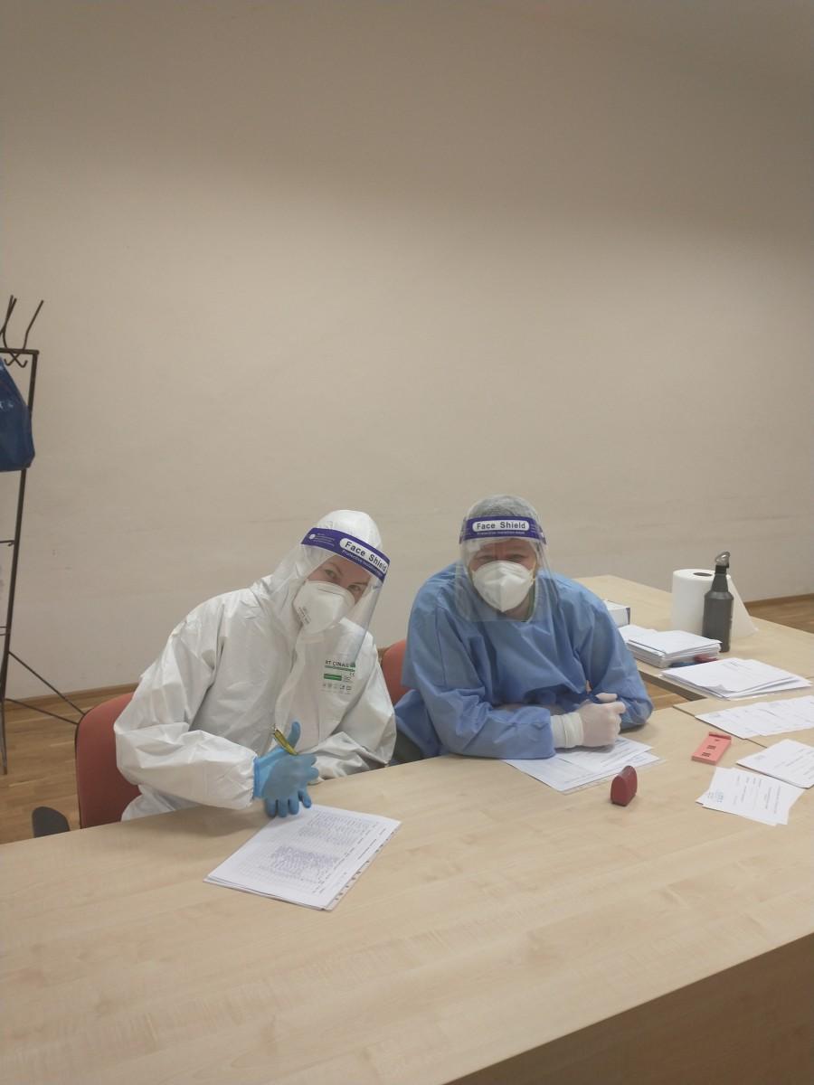 Pomoc pri celoplošnom testovaní na COVID-19